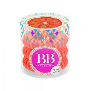 Beauty Bar Hair Rings Резинка-браслет для волос Цвет: Коралловый