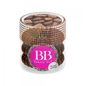 Beauty Bar Hair Rings Резинка-браслет для волос Цвет: Коричневый