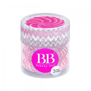 Beauty Bar Hair Rings Резинка-браслет для волос Цвет: Розовый