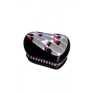 Tangle Teezer COMPACT Lulu Guinness Vertical Lipstick Print Компактная расческа Цвет: Лилу Гинес, помада