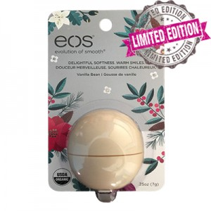 EOS Vanilla Bean Smooth Sphere Limited Edition 2016 Бальзам для губ Ваниль
