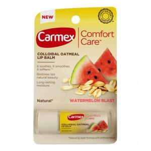 CARMEX Comfort Care Lip Balm Watermelon Blast Stick Бальзам для губ длительное увлажнение Сочный арбуз
