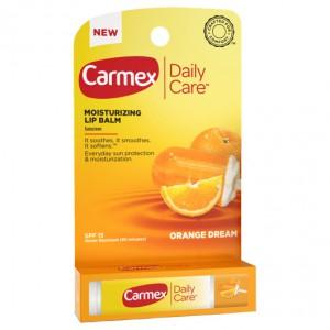 CARMEX Daily Care Lip Balm Orange Dream Stick Ежедневный увлажняющий бальзам для губ Апельсин