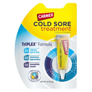 CARMEX Cold Sore Treatment Бальзам для губ против герпеса 2 г