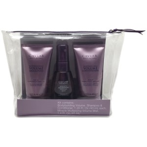 ALTERNA CAVIAR VOLUME Travel Kit Дорожный набор: Volume Shampoo+Conditioner+Volume Mist