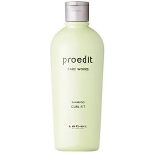 Lebel Proedit Care Works Shampoo Curl Fit Восстанавливающий шампунь для тонких, сухих, непослушных и вьющихся волос