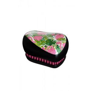 Tangle Teezer COMPACT Skinny Dip Компактная расческа Цвет: Фламинго, зелено-розовый