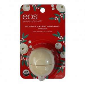EOS Christmas Vanilla Bean Smooth Sphere Limited Edition Бальзам для губ Ваниль