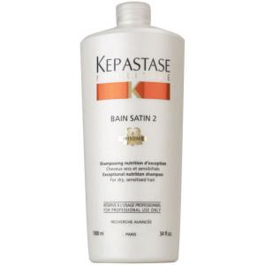 Kerastase Nutritive Bain Satin 2 Шампунь для сухих и чувствительных волос 1 л