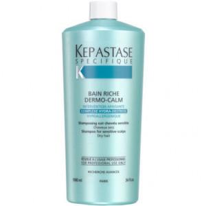 Kerastase Specifique Bain Riche Dermo-Calm Шампунь-ванна для чувствительной кожи головы и сухих волос 1 л