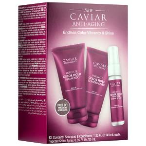 ALTERNA CAVIAR ANTI-AGING Infinite Color Hold Trial Travel Kit Дорожный набор для максимальной защиты цвета