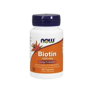 NOW Foods Biotin 1000 mcg Energy Production Биотин 1 мг