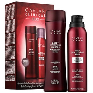 ALTERNA CAVIAR CLINICAL DUO Kit Набор Детоксицирующий шампунь + Ежедневная пена для роста и уплотнения волос