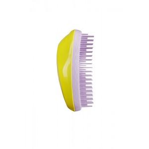 Tangle Teezer THE ORIGINAL Thick & Curly Citrus Lilac Расческа для густых и вьющихся волос Цвет: Лимонный с Розовым