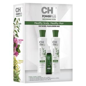 CHI Power Plus Hair Renewing System Set Трехфазная система для восстановления волос и кожи головы