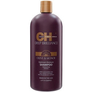 CHI Deep Brilliance Optimum Moisture Shampoo Увлажняющий шампунь 946 мл