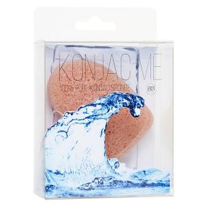 Beauty Bar Konjac Me 100% Pure Konjac Sponge With Nourishing Mineral Rich Pink Clay Конжаковый спонж с розовой глиной