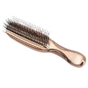 S-Heart-S Scalp Brush Univiala 572 Массажная расческа со сдвоенными щетинками Цвет: Золотой