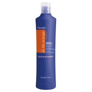 Fanola No Orange Shampoo Шампунь для нейтрализации медных и оранжевых оттенков 350 мл