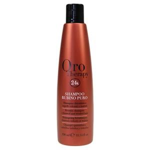 Fanola Oro Therapy Shampoo Rubino Puro Рубиновый шампунь с кератином для окрашенных волос