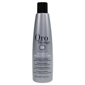 Fanola Oro Therapy Shampoo Diamante Puro Бриллиантовый шампунь с кератином для реконструкции волос