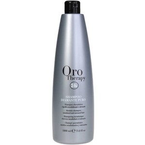 Fanola Oro Therapy Shampoo Diamante Puro Бриллиантовый шампунь с кератином для реконструкции волос 1 л