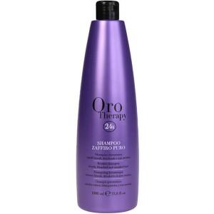 Fanola Oro Therapy Shampoo Zaffiro Puro Сапфировый шампунь с кератином для светлых волос