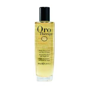 Fanola Oro Therapy Fluid Oro Puro Флюид для реконструкции поврежденных, сухих волос 100 мл