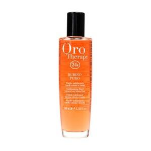 "Fanola Oro Therapy Fluid Rubino Puro Флюид для окрашенных волос ""Рубин"""