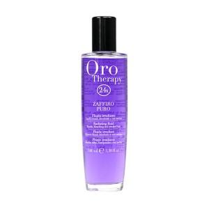 """Fanola Oro Therapy Fluid Zaffiro Puro Флюид для осветленных и светлых волос """"Сапфир"""" 100 мл"""