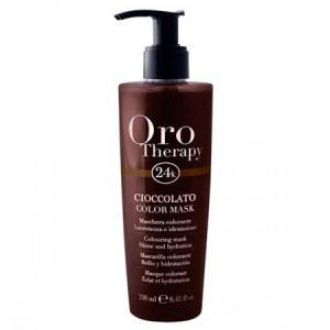 "Fanola Oro Therapy Cioccolato Color Mask Тонирующая маска для волос ""Шоколадная"""