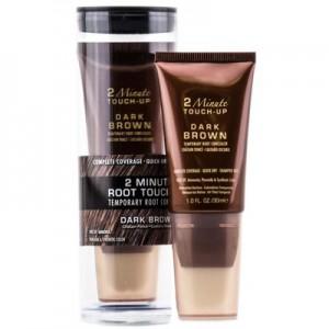 ALTERNA STYLIST 2 Minute Root Touch Up Dark Brown Крем для мгновенного окрашивания отросших корней волос оттенкашоколада