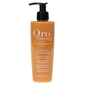 "Fanola Oro Therapy Dorato Color Mask Тонирующая маска для волос ""Золотистая"" 250 мл"