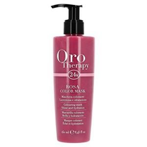 """Fanola Oro Therapy Rosa Color Mask Тонирующая маска для волос """"Розовая"""""""