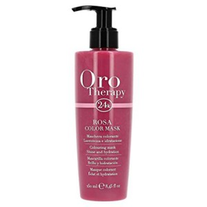 "Fanola Oro Therapy Rosa Color Mask Тонирующая маска для волос ""Розовая"" 250 мл"