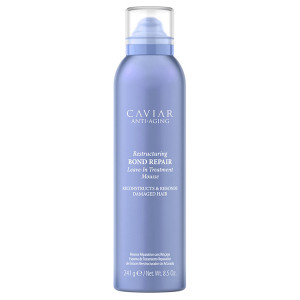 ALTERNA CAVIAR ANTI-AGING Restructuring Bond Repair Leave-In Treatment Mousse Несмываемый лечебный мусс 241 г