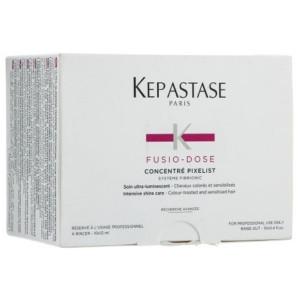 Kerastase Fusio-Dose Concentre Pixelist Концентрат для придания блеска окрашенным волосам 10 х 12 мл
