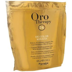 Fanola Oro Therapy De-Color Keratin Порошок (пудра) для осветления волос 500 г