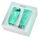 Kerastase Resistance Extentioniste Spring Set Bain + Fondant Весенний набор Шампунь + Молочко для усиления прочности волос
