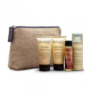 ALTERNA BAMBOO SMOOTH On-The-Go Travel Set Мини набор для выпрямления и смягчения волос