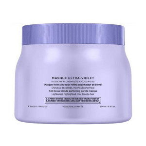 Kerastase Blond Absolu Masque Ultra Violet Маска для нейтрализации медности и нежелательной желтизны 500 мл