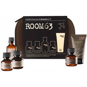Nashi Argan ROOM63 Hair & Body Essential Travel Set Дорожный набор основа для тела и волос