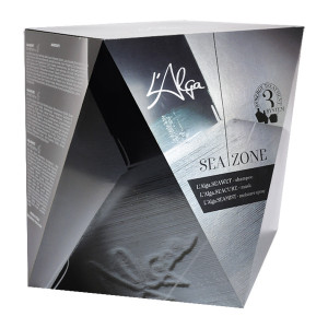 """LAlga Seazone Kit Набор """"Для ежедневного ухода"""" 250 мл + 250 мл + 100 мл"""