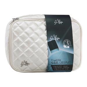 "LAlga Sailzone Beauty Bag Дорожный набор ""Термозащита волос с сывороткой"" 100 мл + 100 мл + 100 мл"