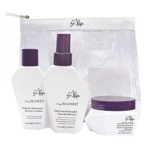 """LAlga Beauty Bag Дорожный набор """"Глубокое восстановление волос"""" 100 мл + 100 мл + 100 мл"""