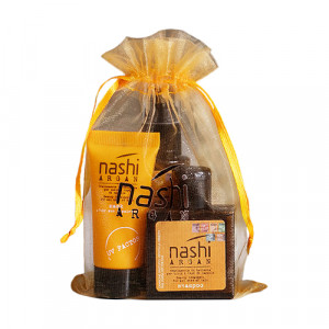 Nashi Argan Pochette Sun Travel Set Дорожный набор защита от солнца