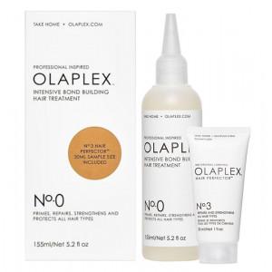 Olaplex Intensive Bond Building Hair Treatment №0 + №3 Интенсивный уход для максимального восстановления волос 185 мл