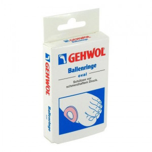 Gehwol Ballenringe Oval Накладки кольца овальные 6 шт