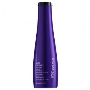 Shu Uemura Yubi Blonde Anti-Brass Purple Shampoo Сиреневый шампунь для блондинок 300 мл