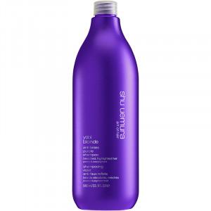 Shu Uemura Yubi Blonde Anti-Brass Purple Shampoo Сиреневый шампунь для блондинок 980 мл